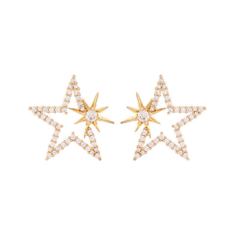 ★Song Haena款★ Star Earring・NHMC1ER07
