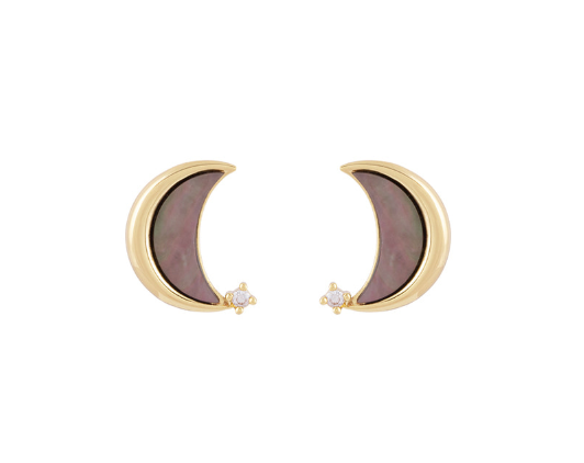 Black Moon Earring耳環・NICMER25
