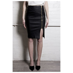 The Leather Pencil Skirt - Pop Up Fashion Sale - 3