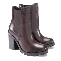 Kara Ankle Leather Boots by Artemisia - Pop Up Fashion Sale - 2