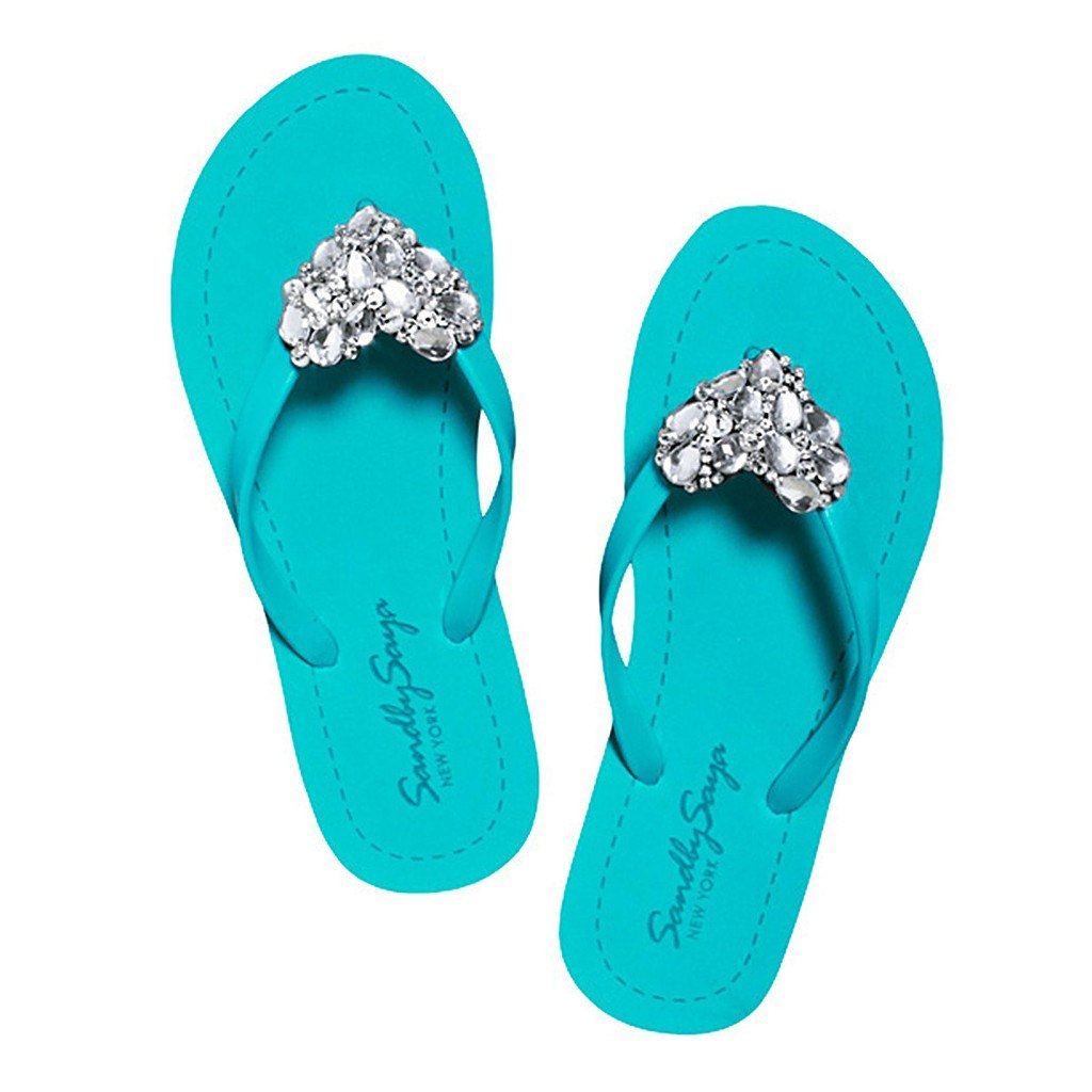 Crystal Chelsea - Flat Sandal by Sand by Saya New York - Pop Up Fashion Sale
