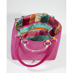 Boa Hot Pink Large Tote - Pop Up Fashion Sale