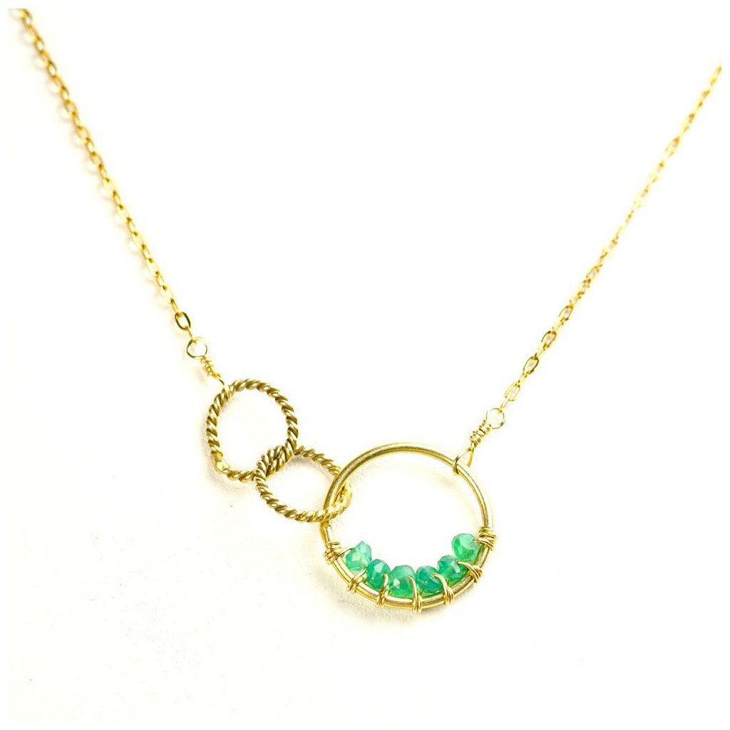 'Twisted Links' Necklace - Pop Up Fashion Sale