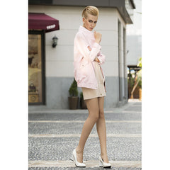 Rebel in Pink Faux suede Oversized jacket - Pop Up Fashion Sale - 4