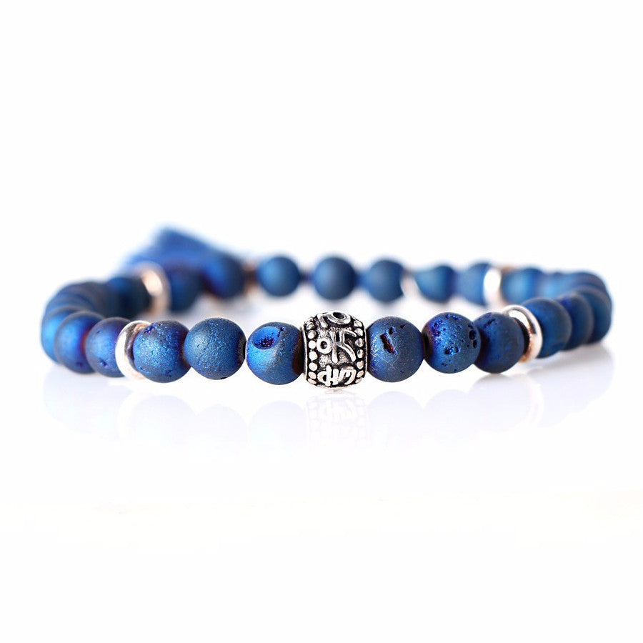 Blue Druzy Bracelet - Pop Up Fashion Sale - 1