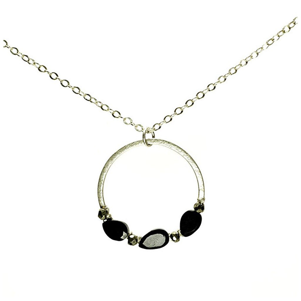 'Halo' Nugget Necklace - Pop Up Fashion Sale