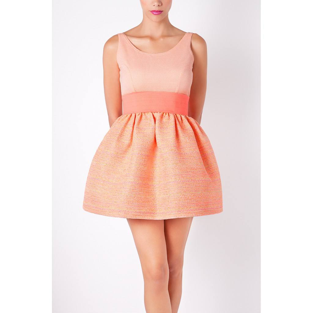Orange Dress Short - Women - Apparel - Dresses - Day To Night