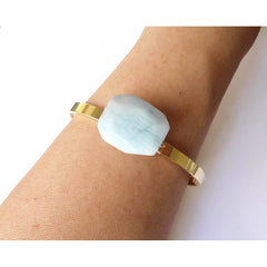 Aquamarine Cuff - Pop Up Fashion Sale
