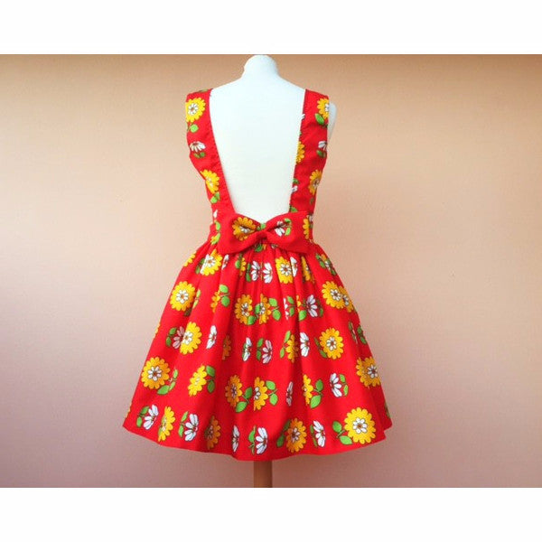 Bambola: Dress With Vintage Fabric - Women - Apparel - Dresses - Cocktail