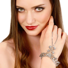 Draping Crystals Handpiece - Women - Jewelry - Bracelets