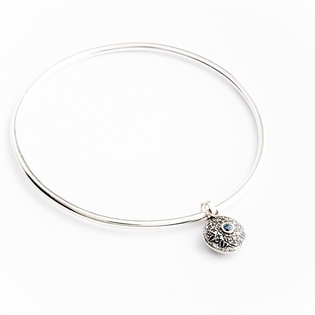 Silver Dangle Bangle By Becky Dockree Jewellery - Women - Jewelry - Bracelets