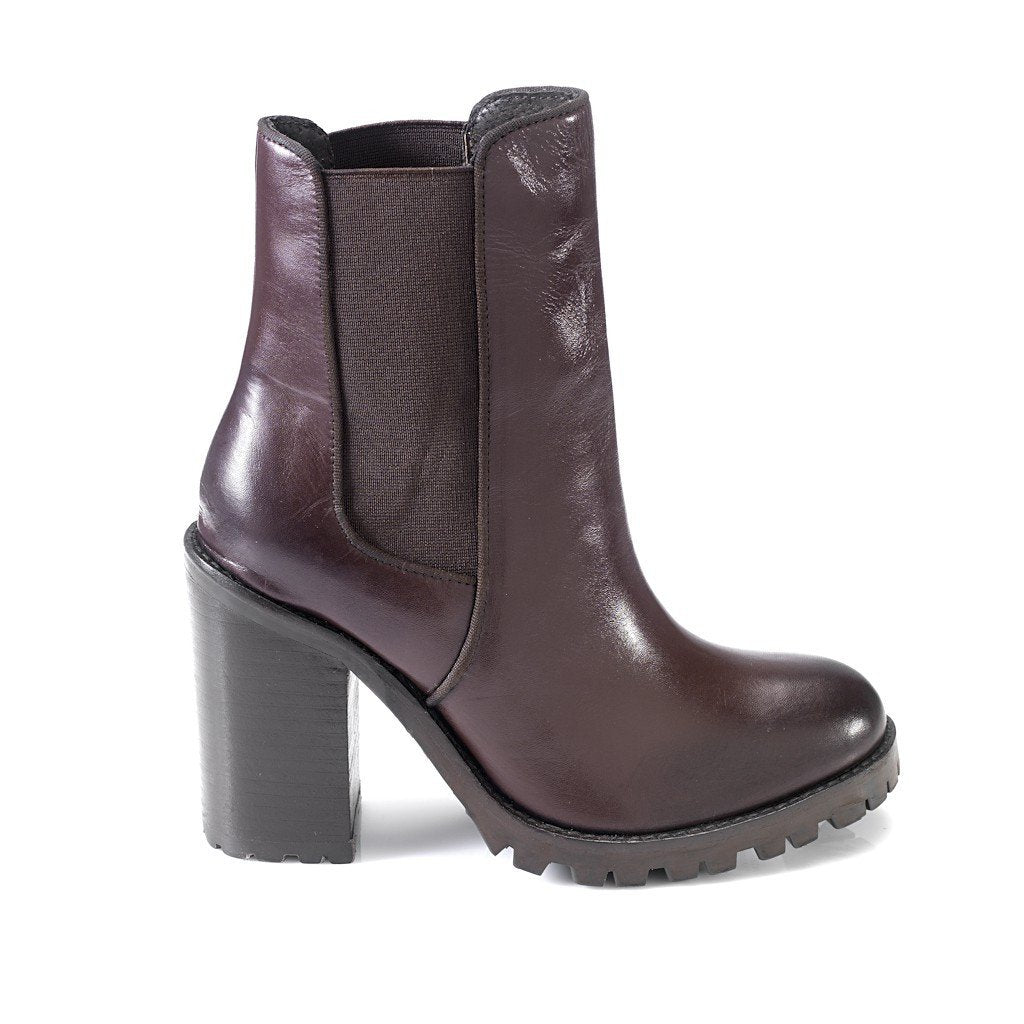 Kara Ankle Leather Boots by Artemisia - Pop Up Fashion Sale - 1