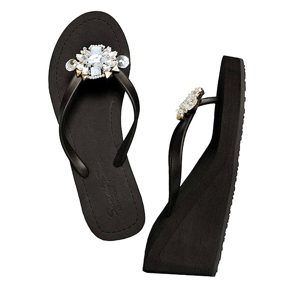 Mulberry - Wedge Sandal by Sand by Saya New York - Pop Up Fashion Sale