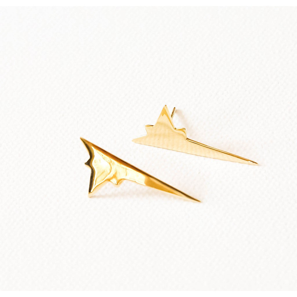 Shooting star large earrings - Pop Up Fashion Sale - 1
