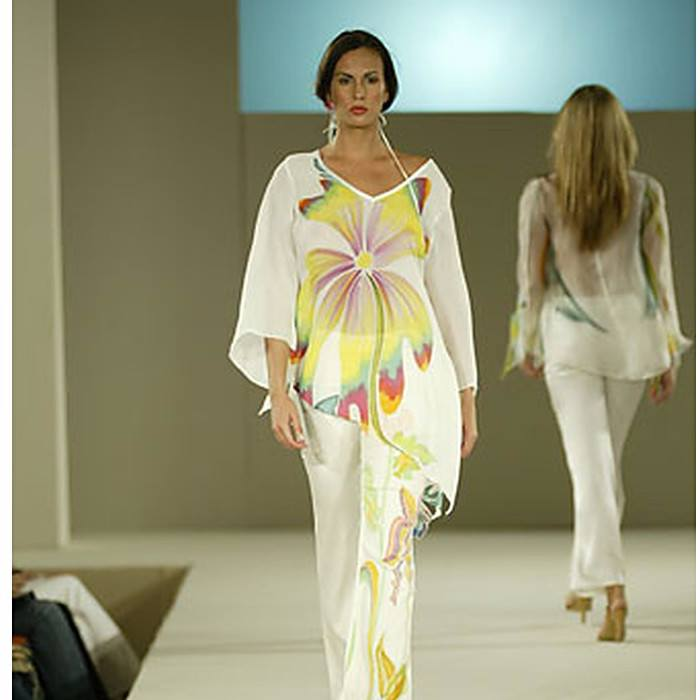 Heather Jones Abstract Orchid - Pop Up Fashion Sale - 1