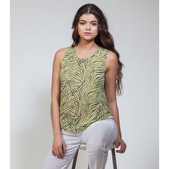 Burnout Drop Armhole Tank - Pop Up Fashion Sale