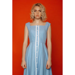 Cotton pinafore dress - Pop Up Fashion Sale