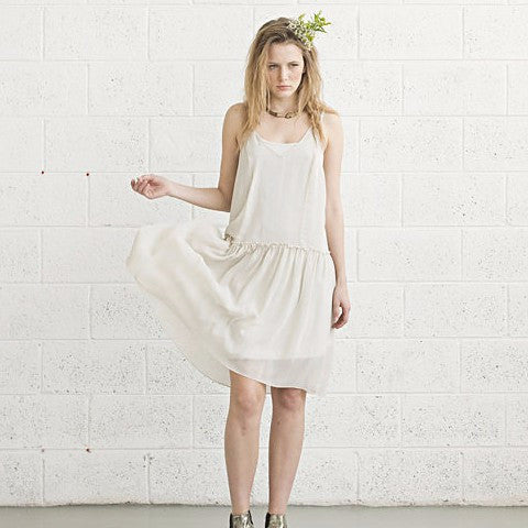 Cocktail Dress- Ivory
