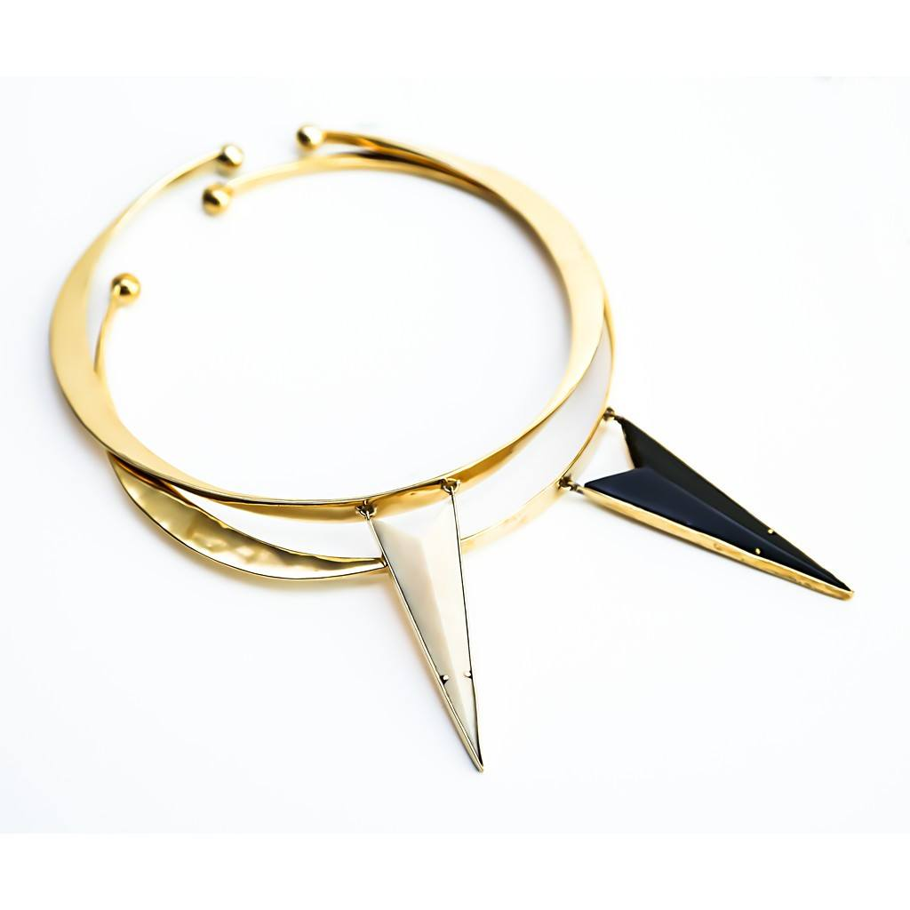 Wild Horn Collar By Bisjoux - Women - Jewelry - Necklaces