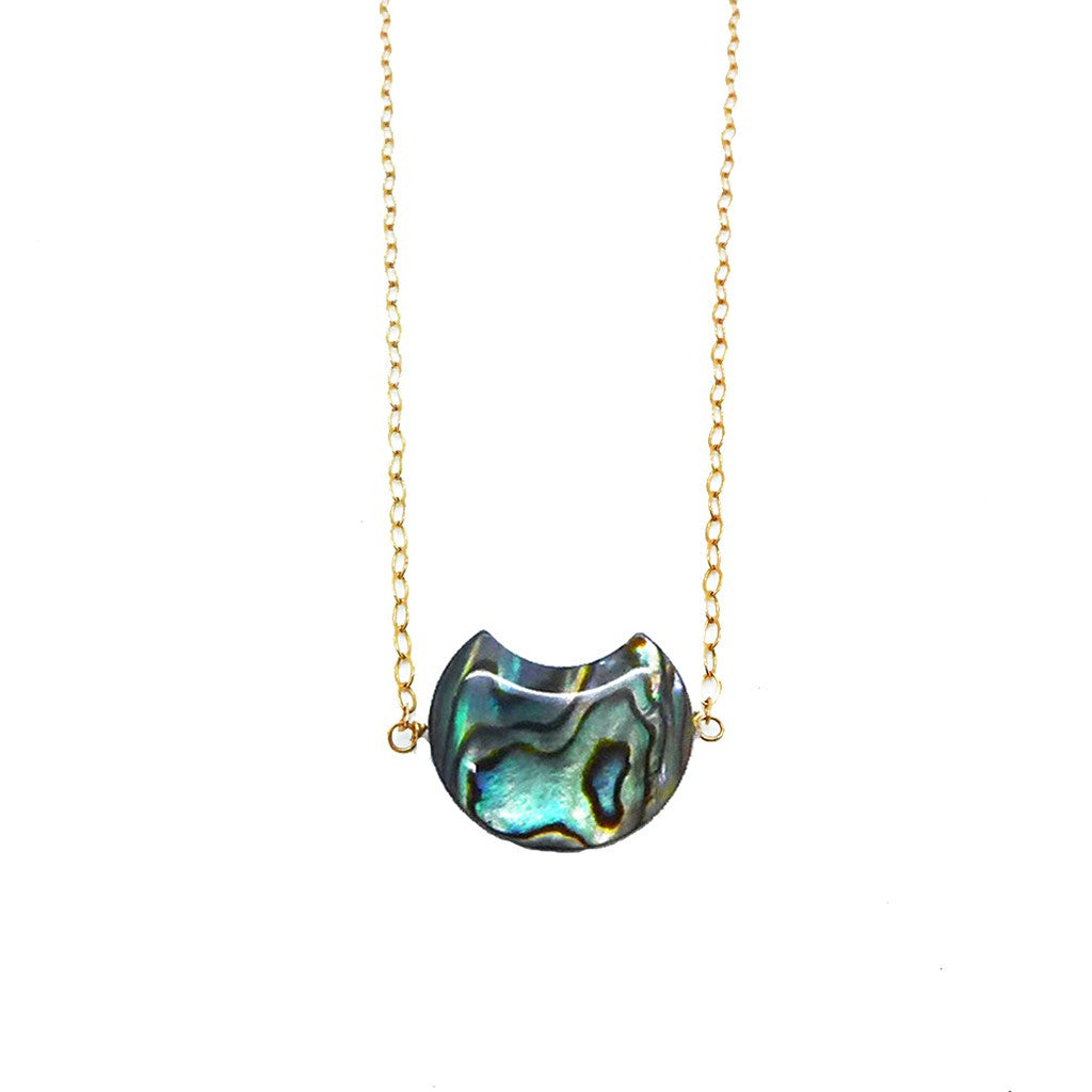 Abalone Shell  Necklace - Pop Up Fashion Sale
