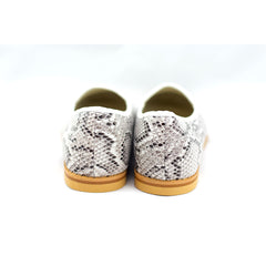 Anaken white snake print loafers - Pop Up Fashion Sale