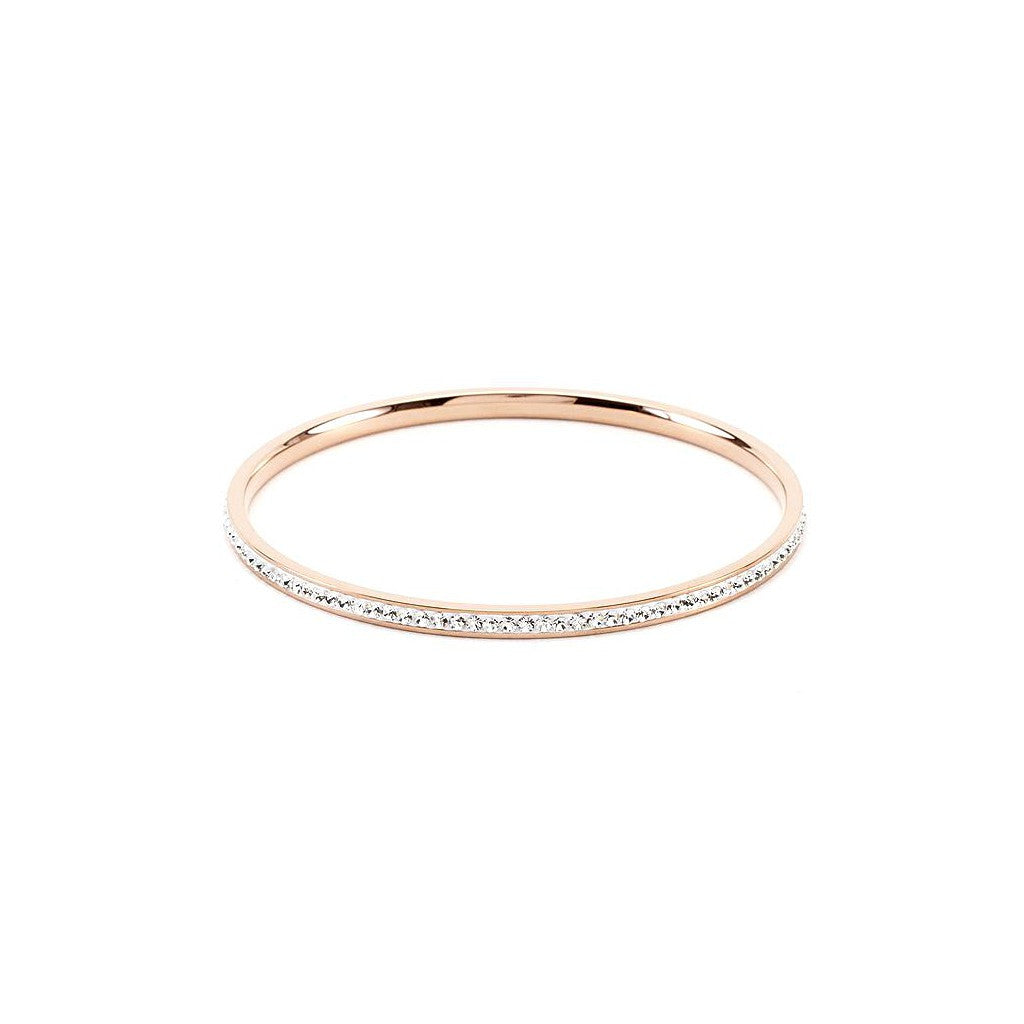 Classic Rose Gold Bangle - Pop Up Fashion Sale
