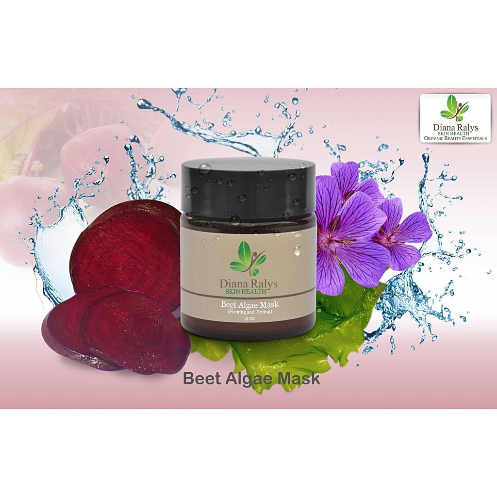Beet Algae Mask by Diana Ralys Skin Health - Pop Up Fashion Sale