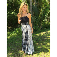 Black & White Maxi Dress - Women - Apparel - Dresses - Maxi