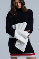 Black and white sweater - Pop Up Fashion Sale