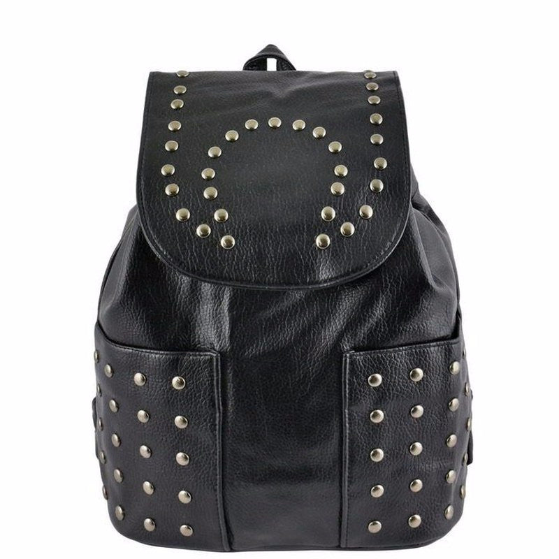 Buy Black Studded Backpack at Pop Up Fashion Sale for only   71.00 2f03f918fcab4