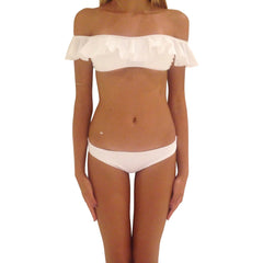 Angel Bings Bikini Snow - S - Women - Apparel - Swimwear - Bikinis Separates