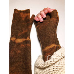 Mod Long Fingerless // Desert - Women - Accessories - Gloves