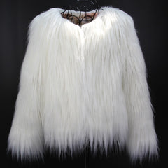 Furry Fur Coat - Men - Apparel - Outerwear - Coats