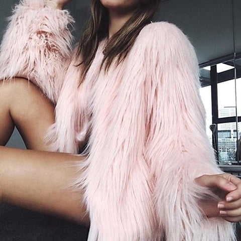 Furry Fur Coat