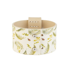 Cuff With Flowers - Women - Jewelry - Cuffs