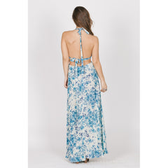 Blue Rose Cutout Maxi - Women - Apparel - Dresses - Maxi