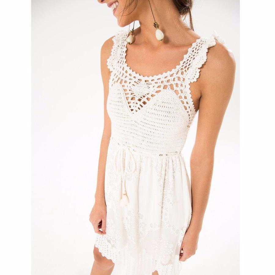 Crochet Devore Dress