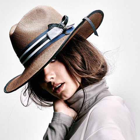 La Finca Panama Hat - Brown