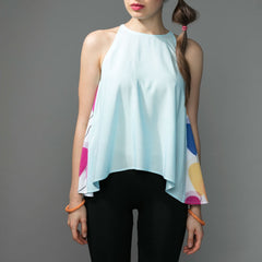 Blue Tank Top - Pop Up Fashion Sale