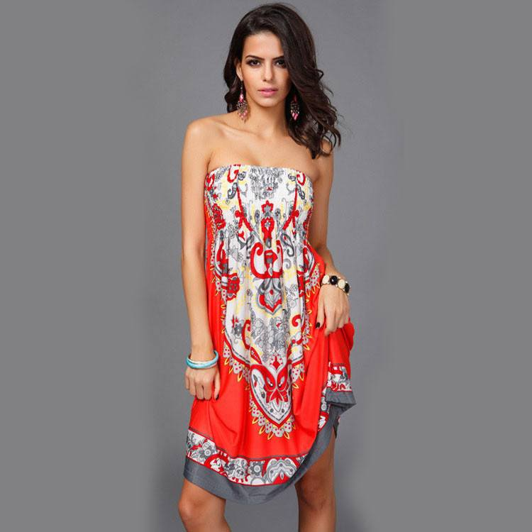 Strapless summer dress - Pop Up Fashion Sale