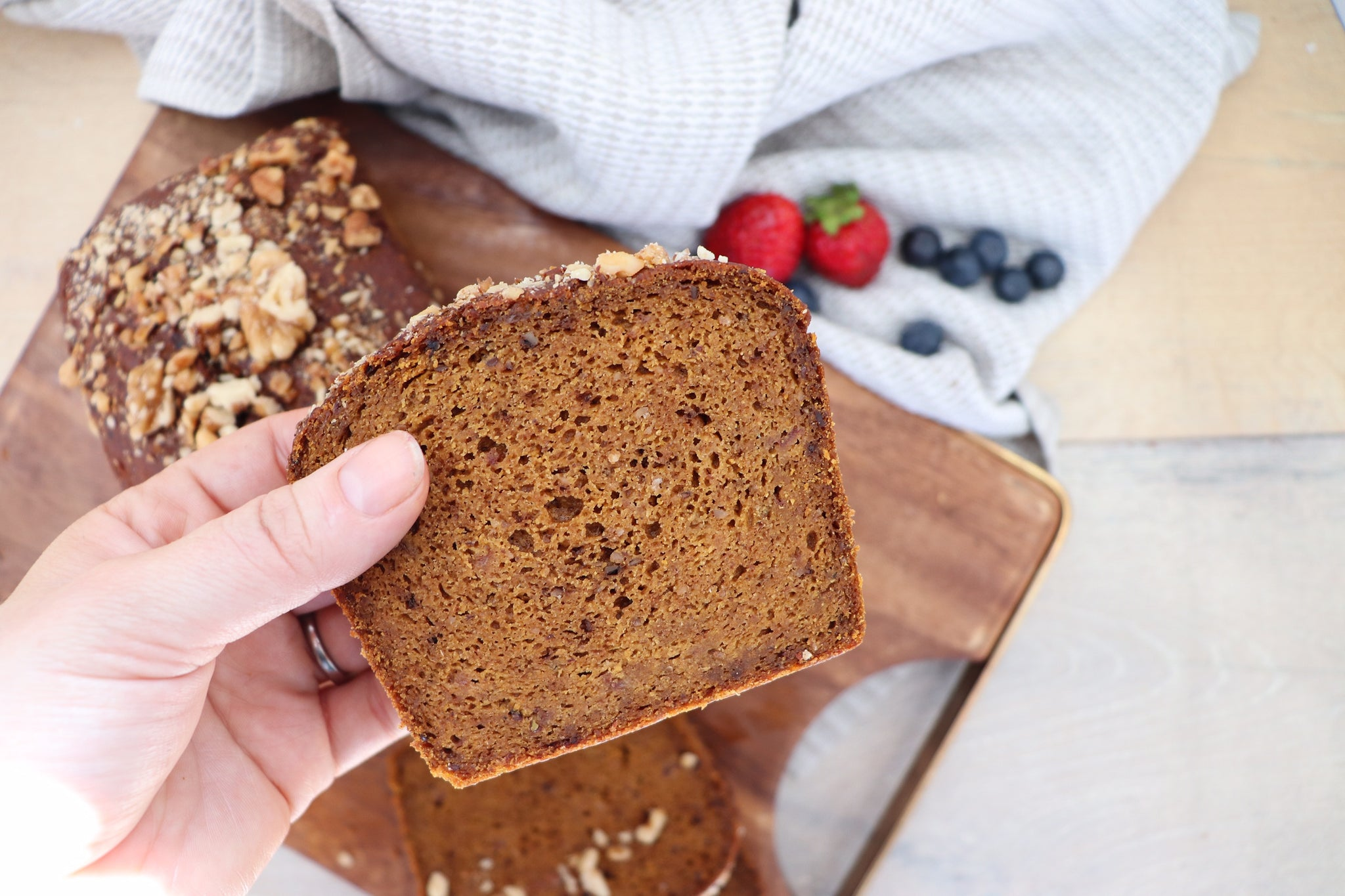 Nourishing By Sally New GF DF Vegan Banana Breads