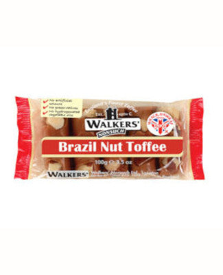 10x100g Andy Pack Brazil Nut Toffee