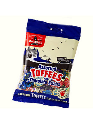 12x150g Toffees & Chocolate Eclairs Asstd