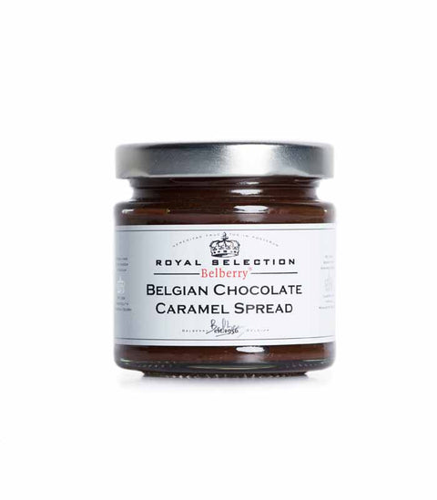 Belberry 135g Belgian Chocolate Caramel Spread