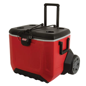 Rugged All-Terrain Wheeled Cooler, 55 Quart