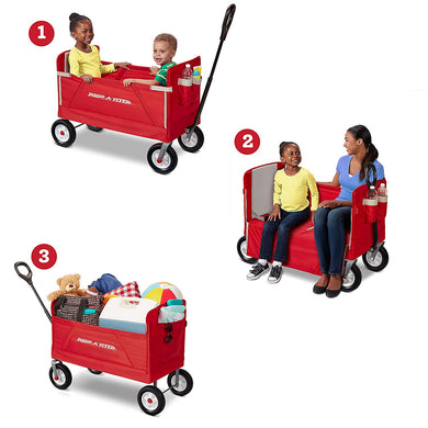 Radio Flyer Kids & Cargo Wagon