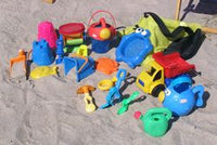 Beach Toys in Mesh Carrying Bag