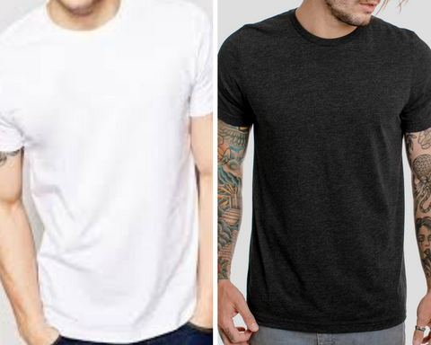 mens t-shirts casual t-shirts white black classic smart casual fentons and co coconut candles luxury premium mens candles mandles candles for men
