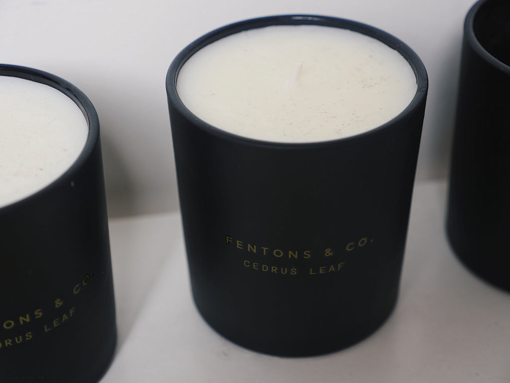 Flos Fumus - Fentons & Co Candles - scented candles - coconut wax candles Fentons & Co Fentons and co. Fentons & Co Fentons & candles