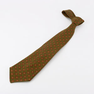 Albert Ltd. vintage olive green wool tie